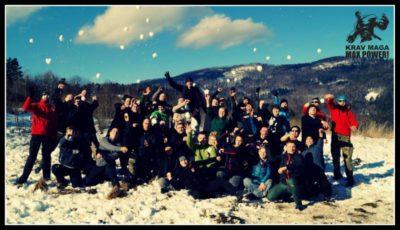 obóz zimowy Krav Maga max power 2018