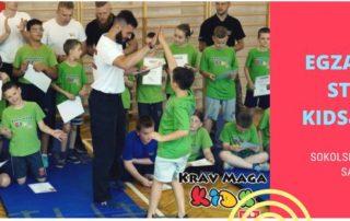 egzamin z samoobrony dla dzieci i młodzieży