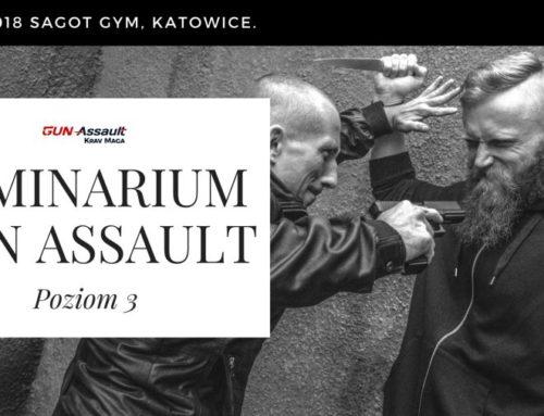 Seminarium Krav Maga GUN ASSAULT poziom 3