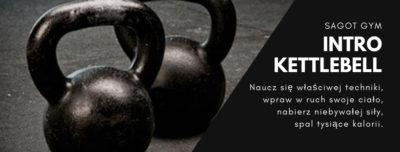 trening wprowadzający do zajęć kettlebell w klubie fitness SAGOT GYM