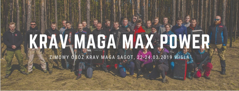 Zimowy obóz Krav Maga MAX POWER 2019