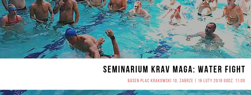 Seminarium Krav Maga: WATER FIGHT