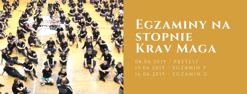 Egzaminy Krav Maga – Czerwiec 2019