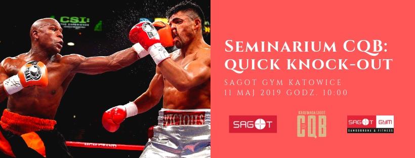 Seminarium Krav Maga SAGOT CQB: Quick Knockout