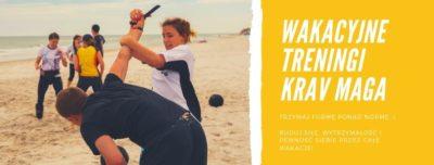 Wakacyjne treningi Krav Maga
