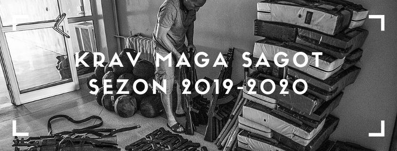 Krav Maga SAGOT – rozkład jazdy w sezonie 2019-2020