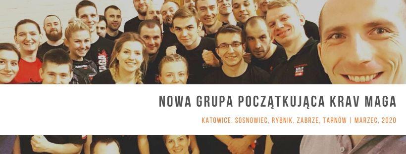 Nowa grupa początkująca Krav Maga – MARZEC 2020