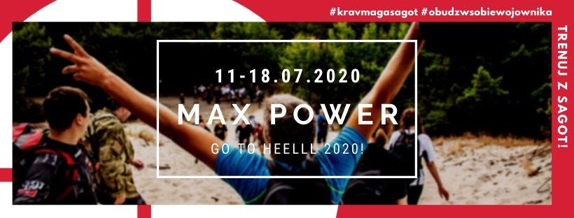 Letni obóz Krav Maga MAX POWER 2020