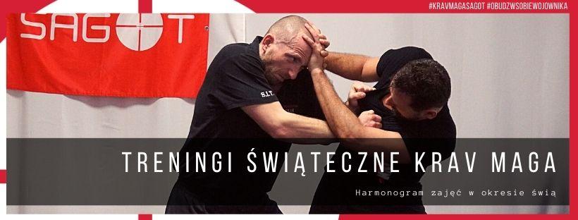 Treningi Krav Maga w okresie świątecznym.