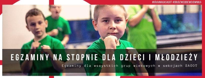 zajęcia dla dzieci i młodzieży Krav Maga KIDS JUNIOR
